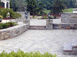 Backyard Paver Patios Paver Patios Paver Decks Brick Patios Hardscapes Outdoor