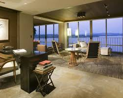 home decoration collections furniture modern home office desk ideas with design and dark
