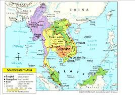 United States Map Quiz South East Asia Physical Map Quiz Evenakliyat Biz For Alluring