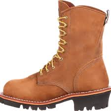 Light Work Boots Georgia Logger Insulated Gore Tex Steel Toe Work Boots G9382
