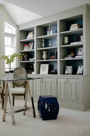 Built In Bookcase Kits Diy Built In Office Cabinet U2014 Classy Glam Living