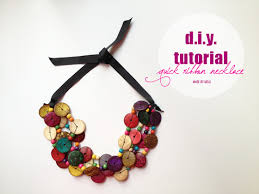 make ribbon necklace images D i y tutorial ridiculously easy 5 min ribbon necklace made jpg