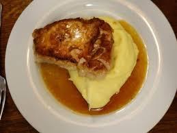 amarante cuisine amarante restaurant in sweetbreads with potato puree