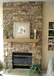 stone wall fireplace fireplace facing stone trendesire me