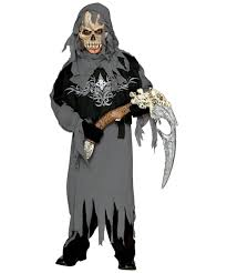 Childrens Scary Halloween Costumes Grim Reaper Kids Scary Halloween Costume Scary Costumes