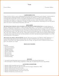 Best Financial Analyst Resume by Sample Senior Financial Analyst Resume Resume For Your Job