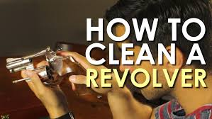 how to clean a revolver the art of manliness youtube