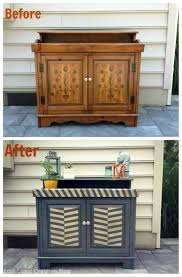 Upcycled Stereo Cabinet Guest Post East Coast Creative Rocks An Old Stereo Cabinet Makely