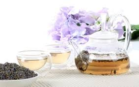 lavender tea hawthorn flower and lavender tea