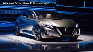 altima nissan 2018 2018 nissan vmotion 2 0 concept previews the next generation
