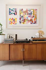 wall mounted record player record album storage 25 solutions apartment therapy