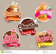 food label or sticker design template stock vector image 66128808
