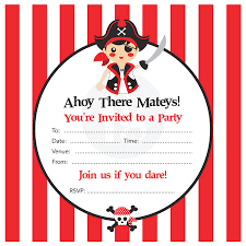 pirate party pirate party kit by feather grey notonthehighstreet