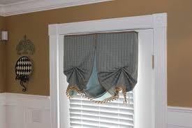 kitchen door window treatment home
