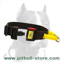 Comfortable Dog Collar Extra Comfortable Nylon Dog Collar With Handle For Pitbull C46