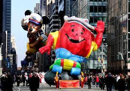 thanksgiving day parade lineup kool aid man macy u0027s thanksgiving day parade wiki fandom