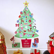 wall stickers uk childrens wall stickers uk childrens personalised advent calendar tree wall stickers by kidscapes notonthehighstreet