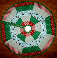 quilted christmas tree skirt 42