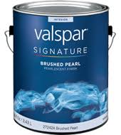 valspar signature brushed pearl finish paint available colors