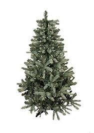 9 pre lit blue spruce artificial tree