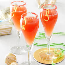 holiday mimosa recipe taste of home