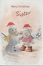 cards merry christmas sister amazon uk office