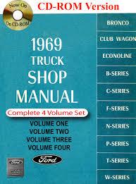1969 ford truck shop manual ford motor company david e leblanc