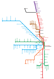 Chicago Train Station Map by Behind The Scenes Evolution Of The Chicago Cta Transit Maps