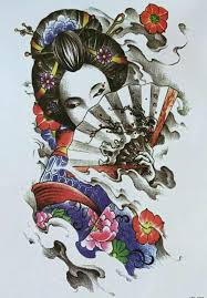 50 amazing geisha tattoos designs and ideas for and