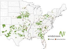 Michigan Area Code Map Windstream Coverage Map Digital Tv Home Phone Windstream