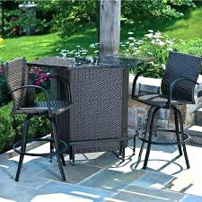 Bar Set Patio Furniture Patio Furniture Bar Set Outdoor Bar Height Chairs Bar Patio Sets