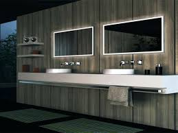 lighted mirrors for bathroom mesmerizing led lighted mirrors bathrooms modern bathroom allmodern