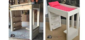 Doll Bunk Bed Plans Diy Loft Bed For American Dolls