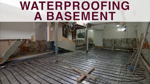waterproofing a basement video diy