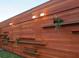 Fence Backyard Ideas by Best 25 Privacy Fences Ideas On Pinterest Backyard Fences Wood