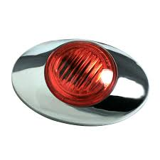 45762 m3 series clearance marker light 180 molded bullet w