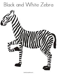black white zebra coloring twisty noodle
