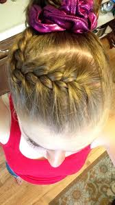gymnastics picture hair style gymnast hair hair pinterest gymnasts gymnastics and