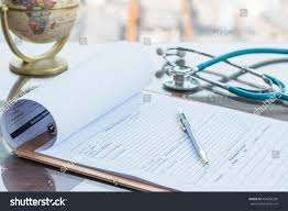 pen writing on paper doctors working table pen writing on stock photo 458956285 doctor s working table with pen for writing on patient s discharge blank paper form medical prescription