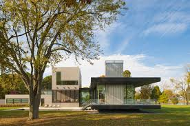 contemporary tred avon river house in maryland