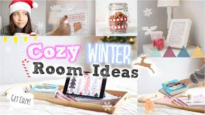 Diy Bedroom Ideas by Cozy Diy Winter Room Ideas Youtube