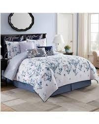 King Comforter Sets Blue Savings On Bridge Street Willow Reversible King Comforter Set In