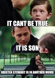 Kristen Stewart Meme - finding neverland meme imgflip