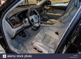 volvo usa chicago il usa 8th feb 2017 interior of the volvo xc90 at the