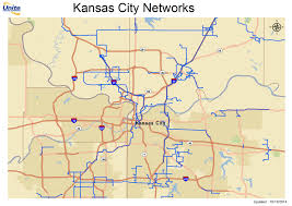 Map Of Wichita Ks Metro Fiber Maps Great Plains Telecom Ramblings