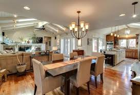 kitchen dining decorating ideas small kitchen dining living room combo one big white cushion