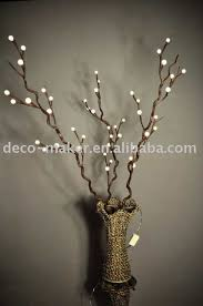 decoration exquisite lighted tree home decor lighted twigs home