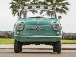 Classic Cars For Sale In Los Angeles Ca This Adorable Mint Green Fiat Twinset Is For Sale