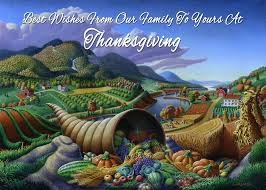 no22 best wishes from our family to yours at thanksgiving painting
