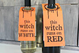 halloween wine bottle labels halloween archives the crazy craft lady